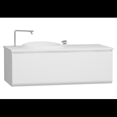 istanbul lavabo dolab 120 cm parlak beyaz vitra t rkiye. Black Bedroom Furniture Sets. Home Design Ideas