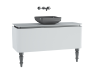 60103 - Gala Classic Washbasin Unit 120 cm White-Chrome