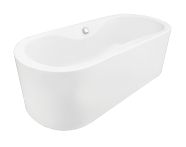 60390010000 - Harmony 180x80 Oval MB A.Soft Easy-Abs