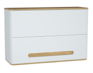 60885 - Sento üst dolap, 105 cm, mat beyaz