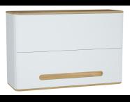 60885 - Sento Upper cabinet, 105 cm, Matte White