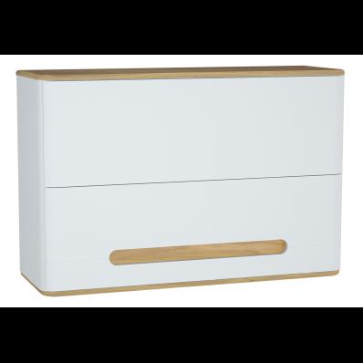Sento Upper Cabinet, 105 cm, Matte White