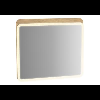 Sento Aydınlatmalı ayna, 60 cm, açık meşe