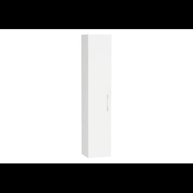 Ecora Boy dolabı, 35 cm, Parlak Beyaz, sol