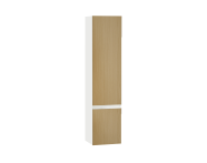 61008 - Memoria Black&White Boy dolabı, 40 cm, Hareli Meşe & Mat Beyaz, sağ