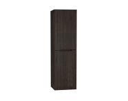 61031 - Folda Tall Unit, 45 cm, Grey Oak Decor, left