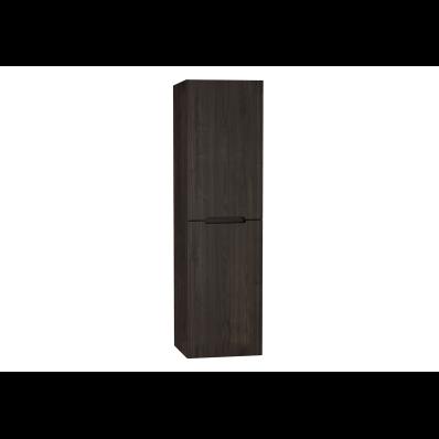 Folda Boy dolabı, 45 cm, Gri Meşe, sol