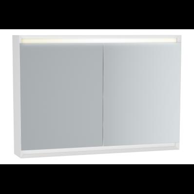 Frame Dolaplı ayna, 100 cm, Mat Beyaz