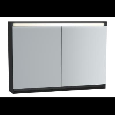 Frame Dolaplı ayna, 100 cm, Mat Siyah