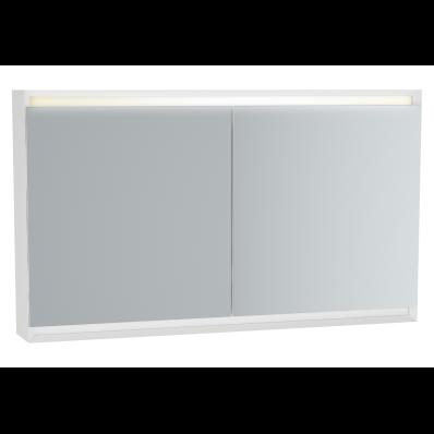 Frame Dolaplı ayna, 120 cm, Mat Beyaz