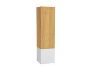 61251 - Frame Tall Unit, 40 cm, with open box, Matte White, left