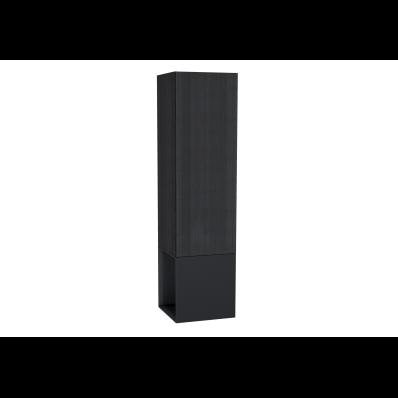 Frame Boy dolabı, açık üniteli, 40 cm, Mat Siyah, sol
