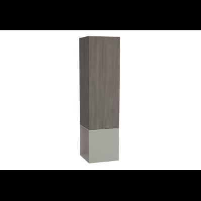 Frame Boy dolabı, açık üniteli, 40 cm, Mat Bej, sol