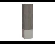 61256 - Frame Boy dolabı, açık üniteli, 40 cm, Mat Bej, sağ