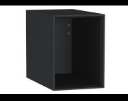 61267 - Frame Açık ünite, 30 cm, Mat Siyah