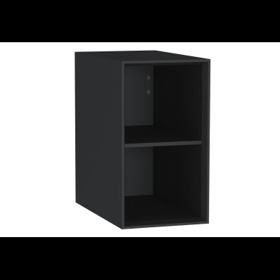 Frame Açık ünite, raflı, 30 cm, Mat Siyah
