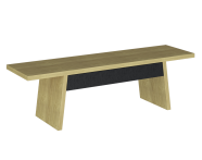 61276 - Memoria Elements Bench With Drawer, 130 cm