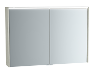 61294 - Metropole Mirror Cabinet, 100 cm, Silver Oak