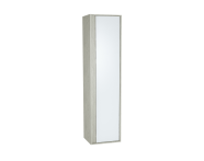 61299 - M-Line Infinit Tall Unit, 40 cm, Silver Oak, right
