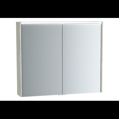 M-Line Infinit Mirror cabinet, 80 cm, Silver oak