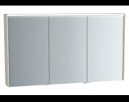 61421 - M-Line Infinit Mirror cabinet, 120 cm, Silver oak