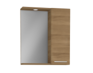61445 - S20 Yandan Dolaplı Ayna, 60 cm, Altın Kiraz