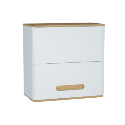 Sento Upper Cabinet, 70 cm, Matte White
