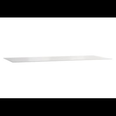Frame Cam tezgah, armatür deliksiz, 120 cm, Beyaz