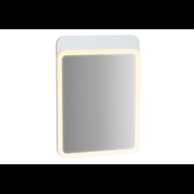 Sento Aydınlatmalı Ayna, 50 cm, Mat Beyaz