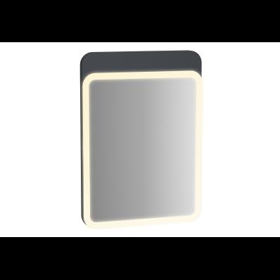 Sento Aydınlatmalı Ayna, 50 cm, Mat Antrasit