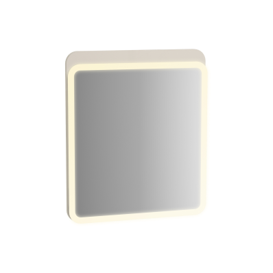 Sento Aydınlatmalı Ayna, 60 cm, Mat Krem