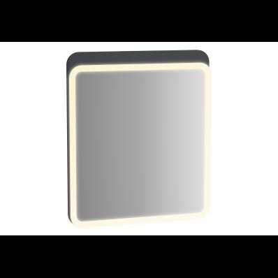 Sento Aydınlatmalı Ayna, 60 cm, Mat Antrasit