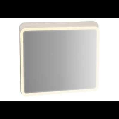 Sento Aydınlatmalı Ayna, 80 cm, Mat Krem