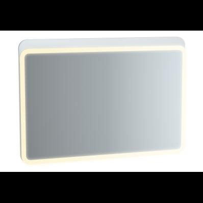 Sento Aydınlatmalı Ayna, 100 cm, Mat Beyaz