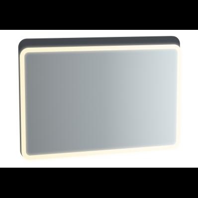 Sento Aydınlatmalı Ayna, 100 cm, Mat Antrasit