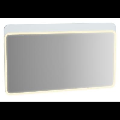 Sento Aydınlatmalı Ayna, 120 cm, Mat Beyaz