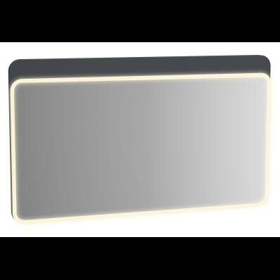 Sento Aydınlatmalı Ayna, 120 cm, Mat Antrasit