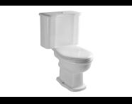 6285B003-0088 - Efes Takım Klozet Arkadan Çıkışlı Taharet Borusu Girişi Standart Uygulamalı