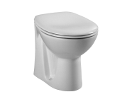 6875L003-0075 - Arkitekt Back-to-Wall WC Pan