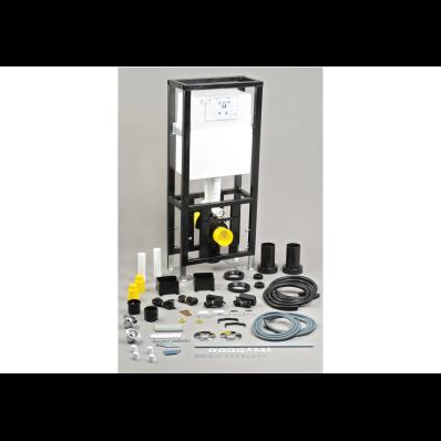 İstanbul Gömme Rezervuar - Asma klozetler için yere montaj uygulamalı set - Sırtsırta 2 ürün modeli