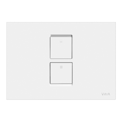 Twin² Pneumatic Control Panel, High Gloss White