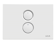 740-0200 - Twin O Pneumatic Control Panel, High Gloss White