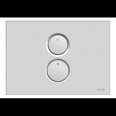 Twin O Pneumatic Control Panel, Matt Chrome