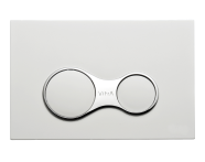 740-0400 - Sirius Mechanical Control Panel, High Gloss White