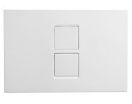 748-0185 - Twin2 Panel - Matte Chrome Plated