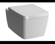 7672B003-0075 - M-Line Wall-Hung WC Pan, 56 cm, Rim-Ex