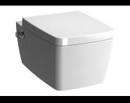 7672B003-1084 - Metropole Rim-ex W-hung WC-White