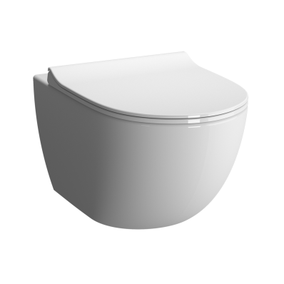 Sento Compact Wall Hung Wc Pan Rim Ex Vitra Uk