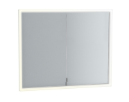 83317 - Deluxe Mirror Cabinet Build into wall, 85 cm