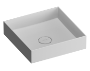 89002 - Memoria Square Countertop basin 40 cm